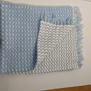 Crocheted Baby Blanket Hand Made